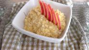 Фото рецепта Пшённая каша с яблоком в мультиварке