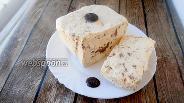 Фото рецепта Ванильный семифредо с тёртым какао