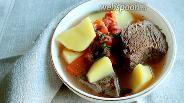 Фото рецепта Суп-жаркое из говядины