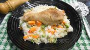 Фото рецепта Рис с куриными ножками и овощами