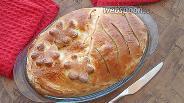Фото рецепта Закрытый мясной пирог со свининой