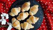 Фото рецепта Круассаны с ирисками