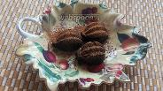 Фото рецепта Кето-конфеты с миндалём и горьким шоколадом