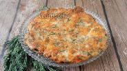 Фото рецепта Кето лепёшка хачапури на сковороде