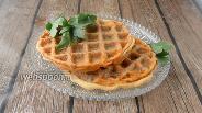 Фото рецепта Солёные вафли из мяса и яиц