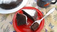 Фото рецепта Шоколадный пирог в микроволновке