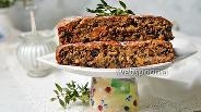 Фото рецепта Постная коврижка Монастырская