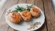 Фото рецепта Куриные котлеты с петрушкой и говяжьей печенью