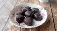 Фото рецепта Домашние конфеты «Вишнёвое желе в шоколаде»
