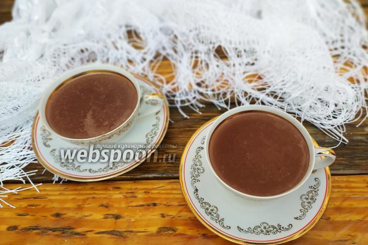 Фото Кофейно-шоколадный кисель
