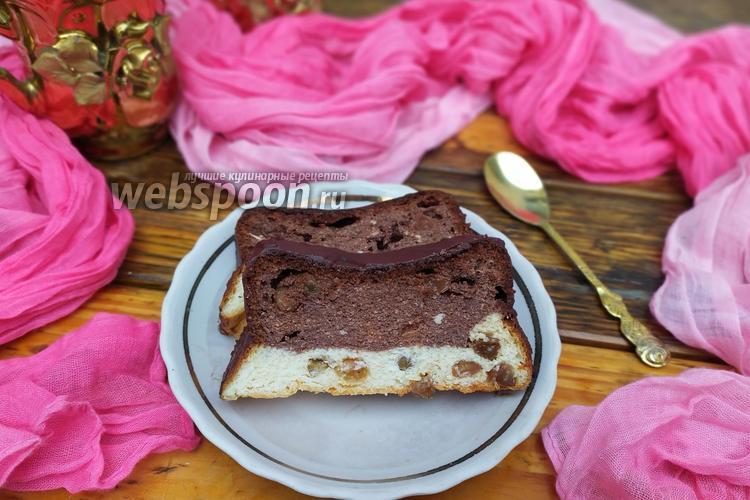Фото Шоколадно-ванильный львовский сырник