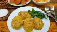 Фото рецепта Картофель по-словацки с сыром и хлебной крошкой