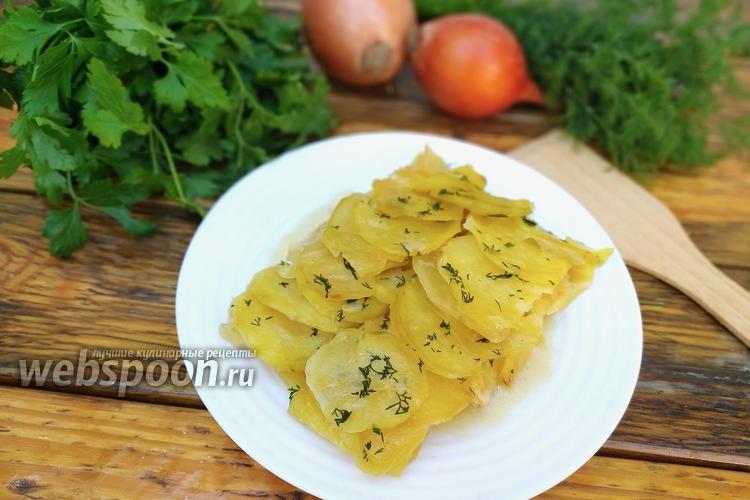 Фото Классический картофель «Буланжер» в духовке