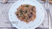 Фото рецепта Киноа с грибами и свининой