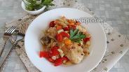 Фото рецепта Куриные голени в маринаде из перцев в духовке