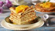 Фото рецепта Рисовые блины на кефире