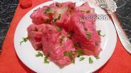 Фото рецепта Красная капуста лепестками маринованная за сутки