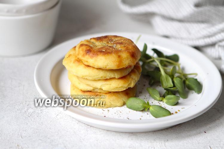 Фото Картофельные оладьи в духовке