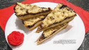 Фото рецепта Тёртый пирог с джемом в мультиварке