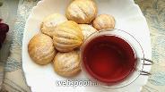 Фото рецепта Медовое печенье «Ракушки»