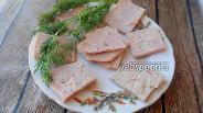 Фото рецепта Колбасная закуска из курицы