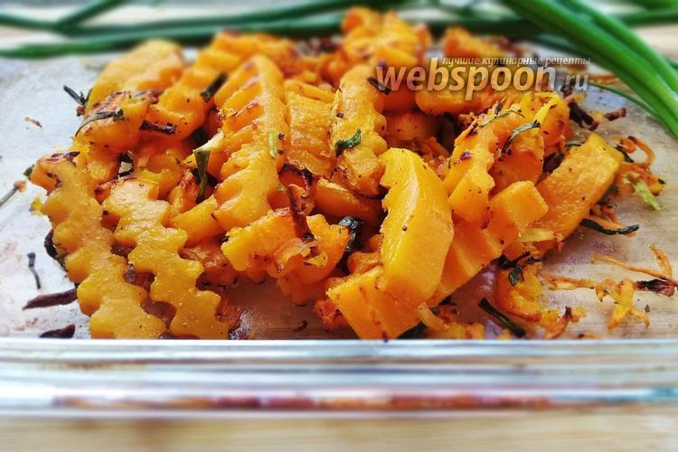 Фото Гарнир из тыквы с морковью и специями