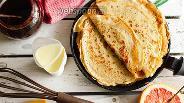 Фото рецепта Ржаные блинчики на закваске
