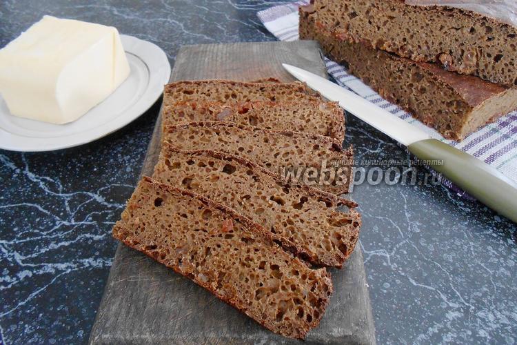 Фото Карельский хлеб с изюмом на заварке