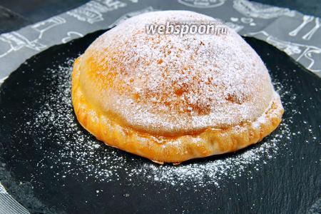 Надувной пирог с яблоками. Видео видео рецепт