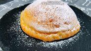 Фото рецепта Надувной пирог с яблоками. Видео