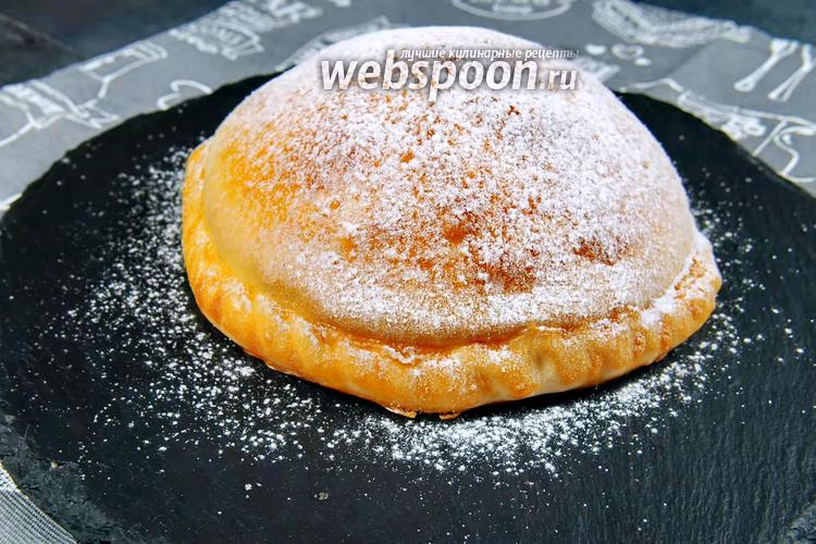 Фото Надувной пирог с яблоками. Видео