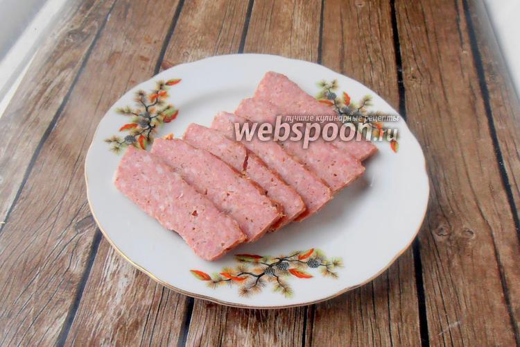 Фото Мясной хлеб из свинины