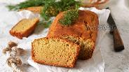 Фото рецепта Кукурузный хлеб без дрожжей