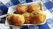 Фото рецепта Солёные маффины с сушёными помидорами