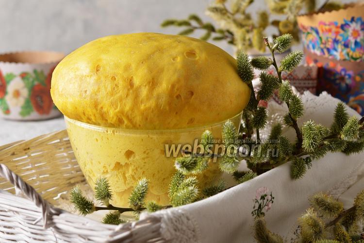 Фото Заварное тесто на куличи пасхальные