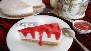 Фото рецепта Клубничный Чизкейк без выпечки