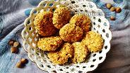 Фото рецепта Овсяное печенье с фундуком без муки и яиц