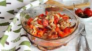 Фото рецепта Маринованные куриные крылышки со сладким перцем в духовке