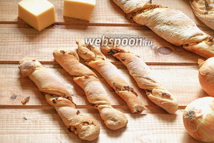 Фото Булочки с луком и сыром