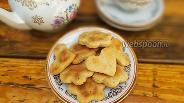 Фото рецепта Песочное печенье на сметане с орехами