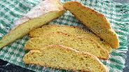 Фото рецепта Кукурузный хлеб с семенами льна