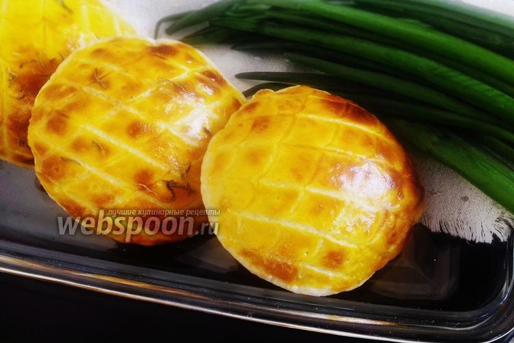 Фото Мини-пита с сырной начинкой