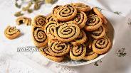 Фото рецепта Печенье с оливками