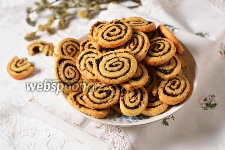 Фото Печенье с оливками