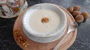 Фото рецепта Манная каша с грецкими орехами