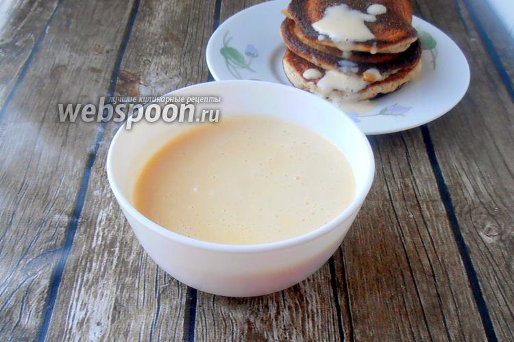 Фото Кето сливочный ванильный соус