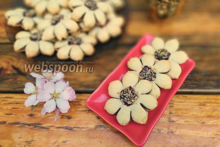Фото Печенье «Весенние цветы»