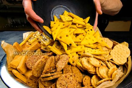 Крекеры и печенье – 7 новых рецептов. Видео видео рецепт