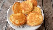 Фото рецепта Оладьи из запечённой курицы и сыра без глютена