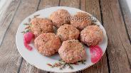 Фото рецепта Нежные котлеты из свинины с кабачком и зелёным луком